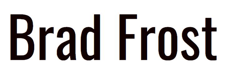 Brad Frost logo